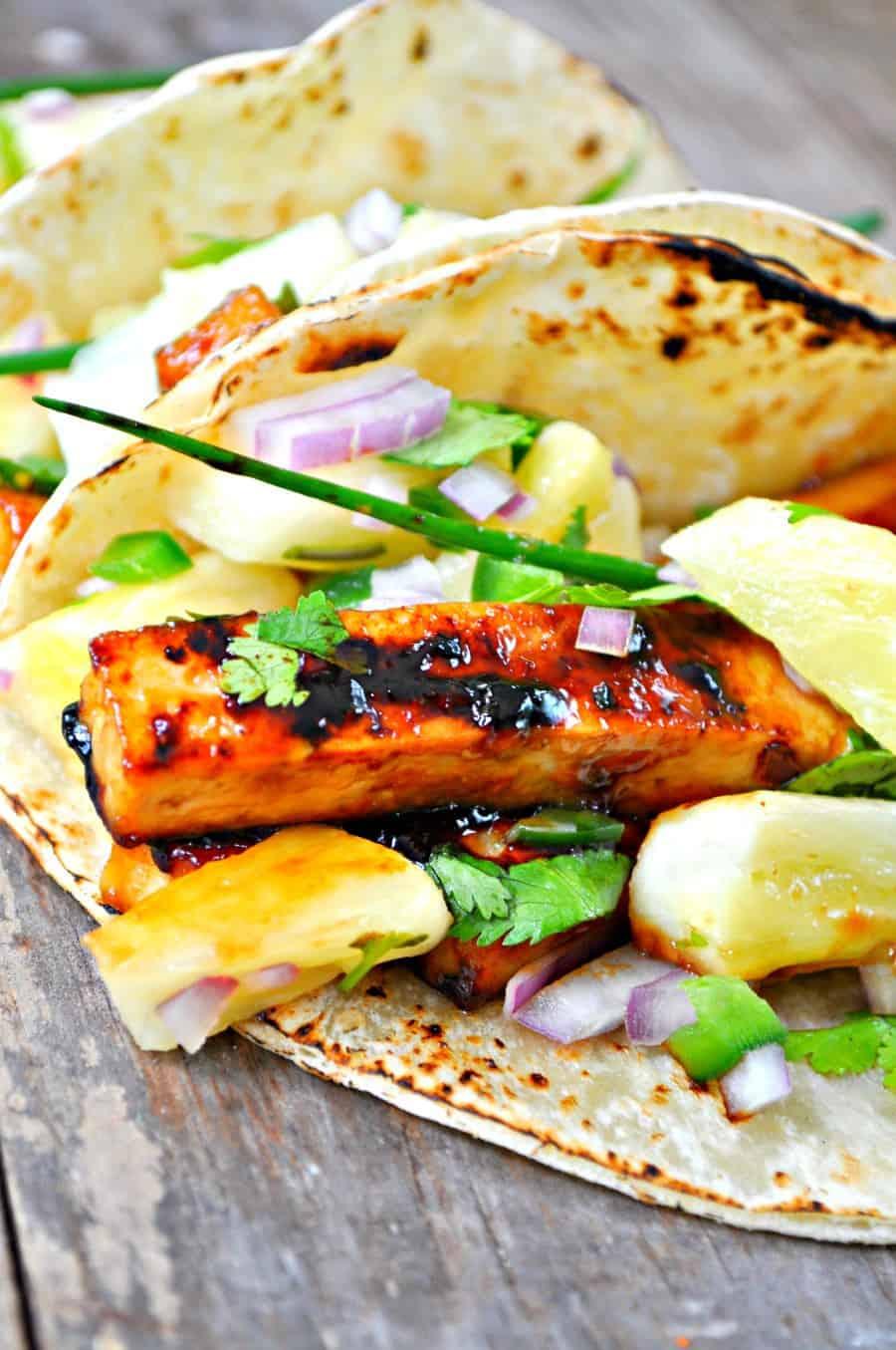 #Vegetarian taco filling