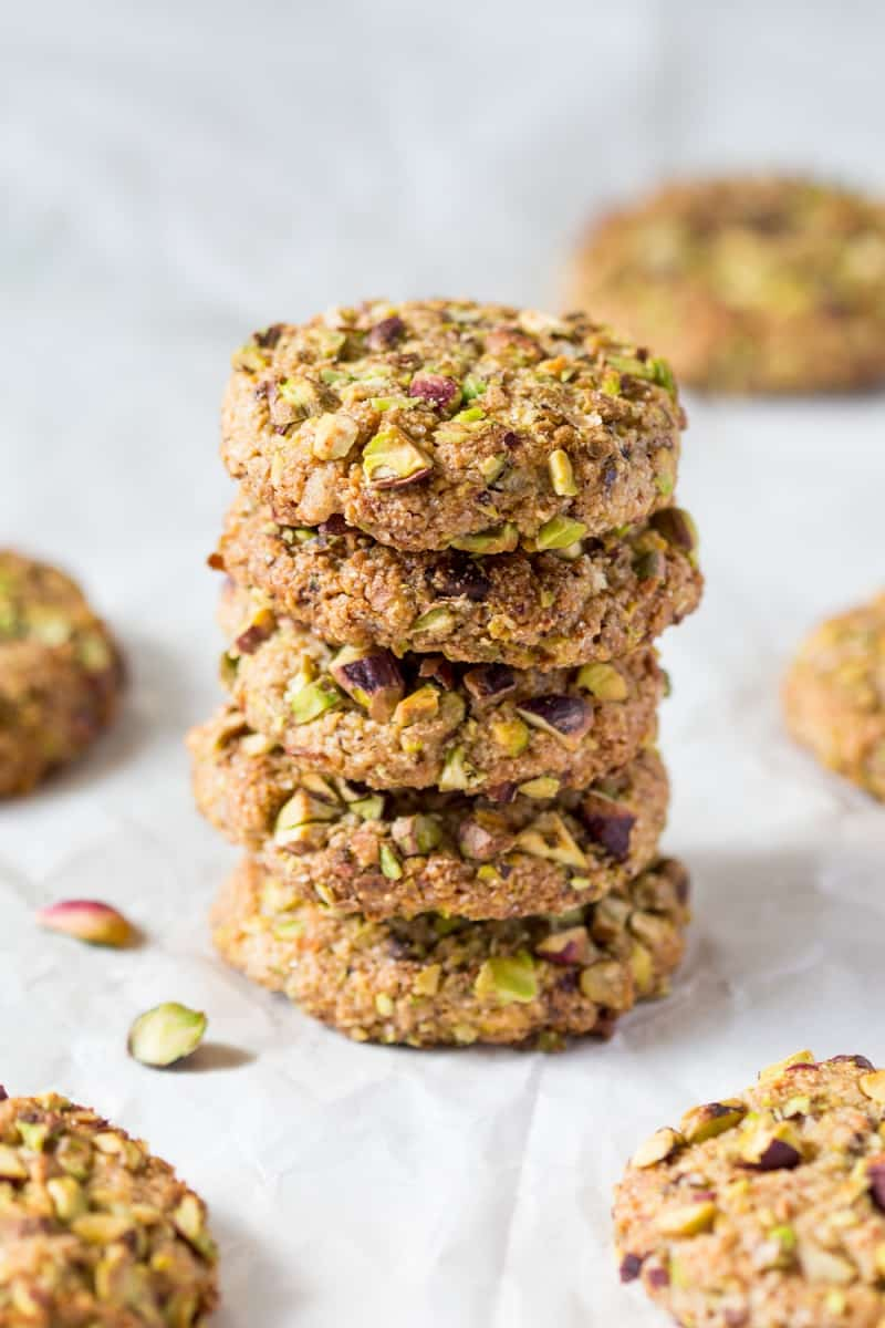 Flourless pistachio cookie recipe