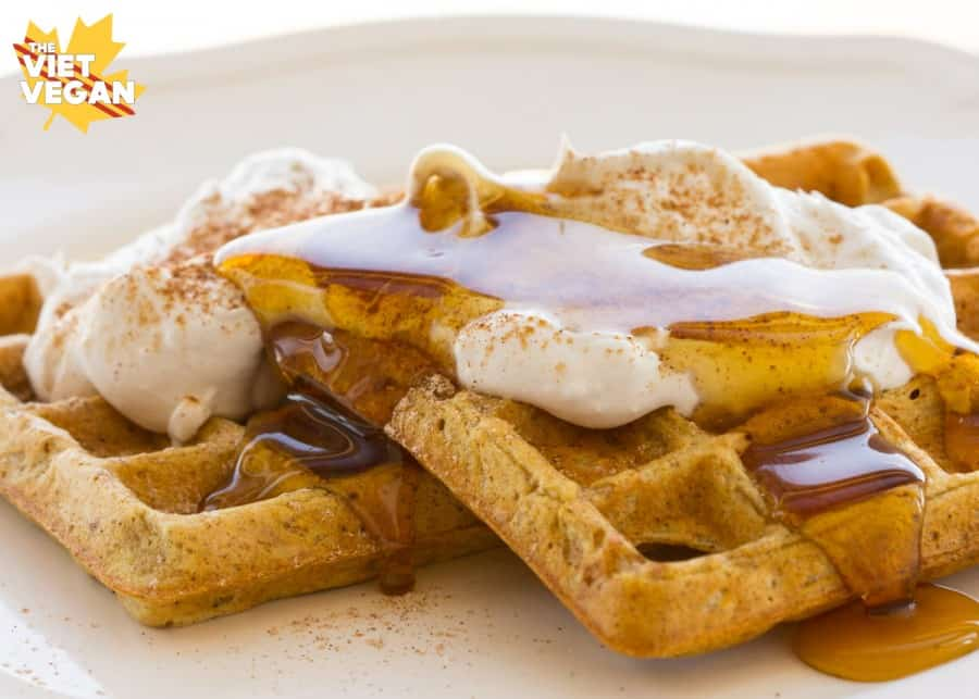 vegan waffle mix
