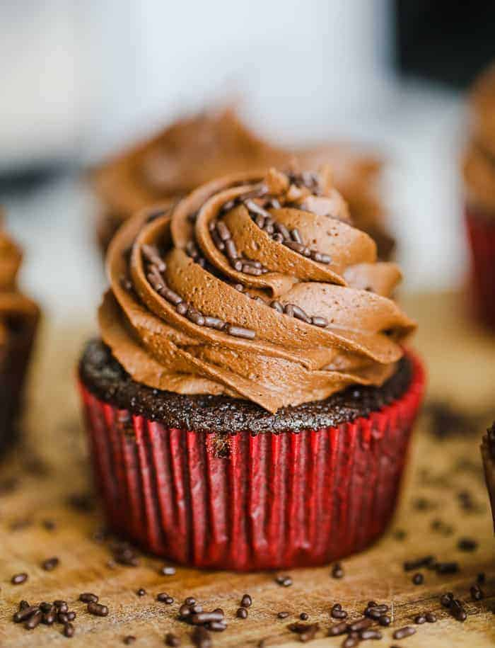 chocolate cupcake vegan