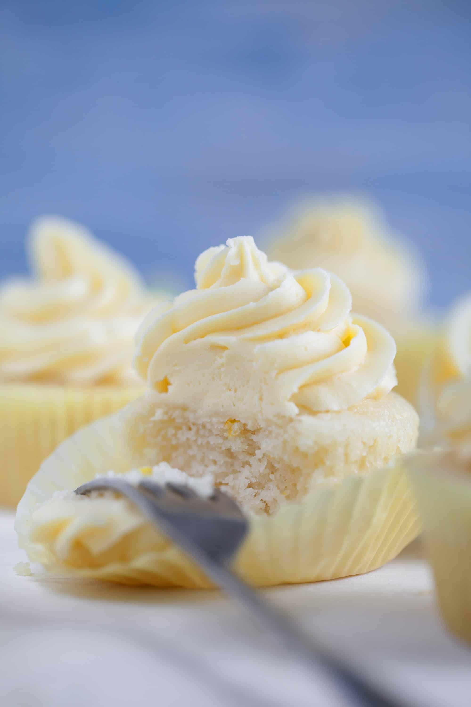 Egg-free cupcakes - lemon