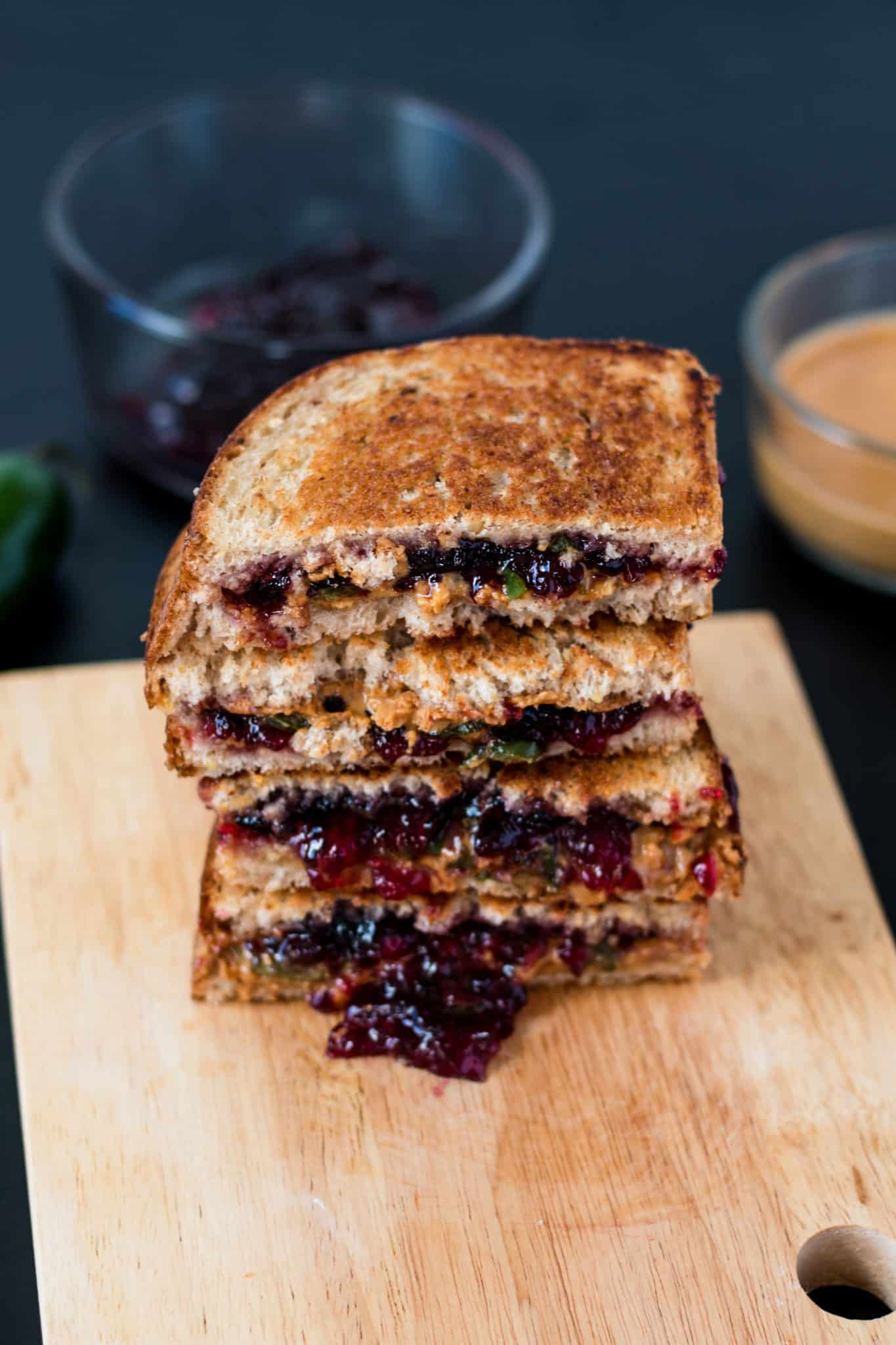 PBJ and J vegan sandwich ideas