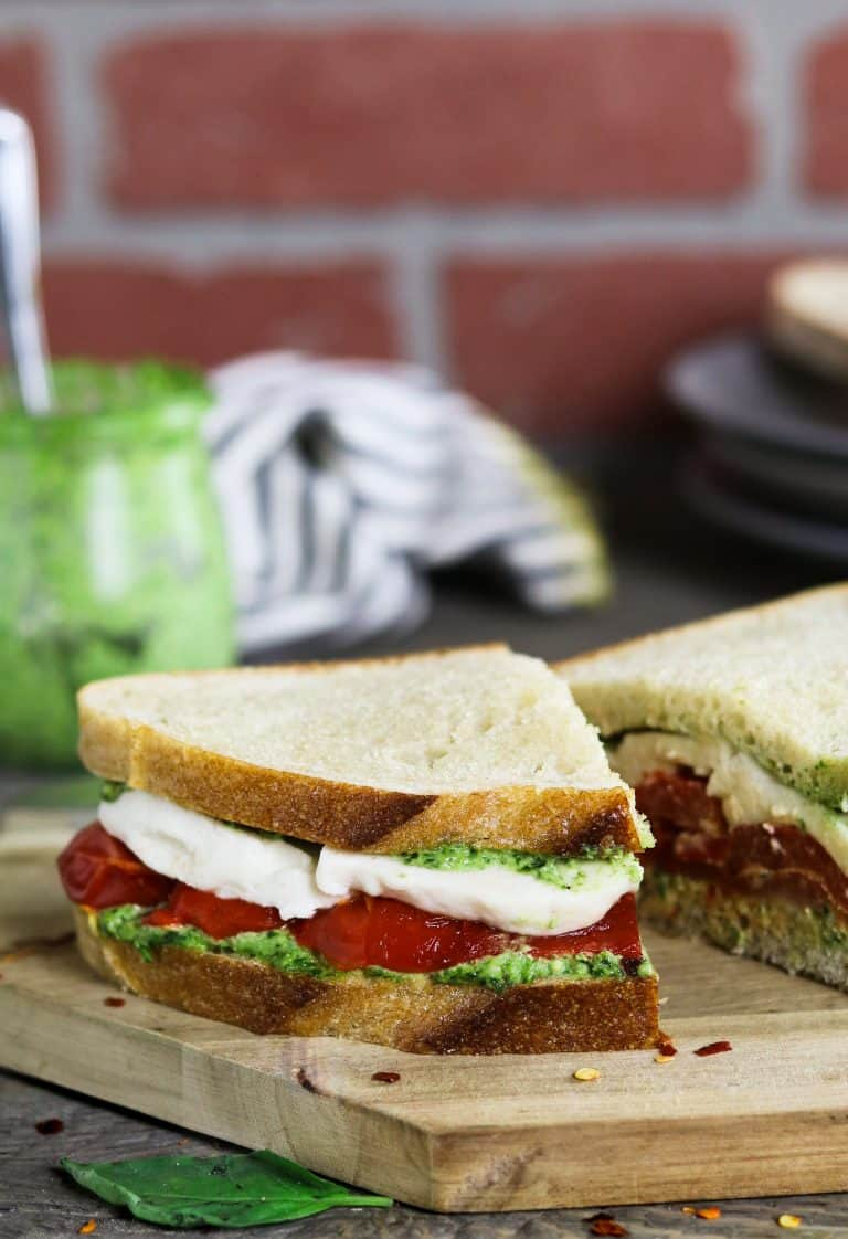 Roasted red pepper sarnie