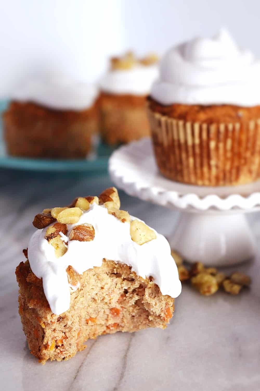 dairy-free cupcake recipes carrot cake