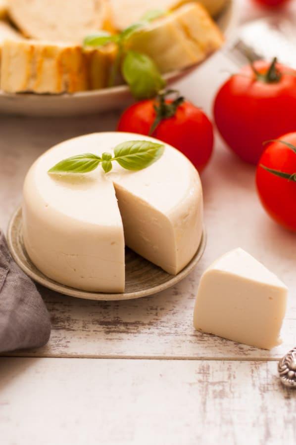 Dairy-free mozzarella