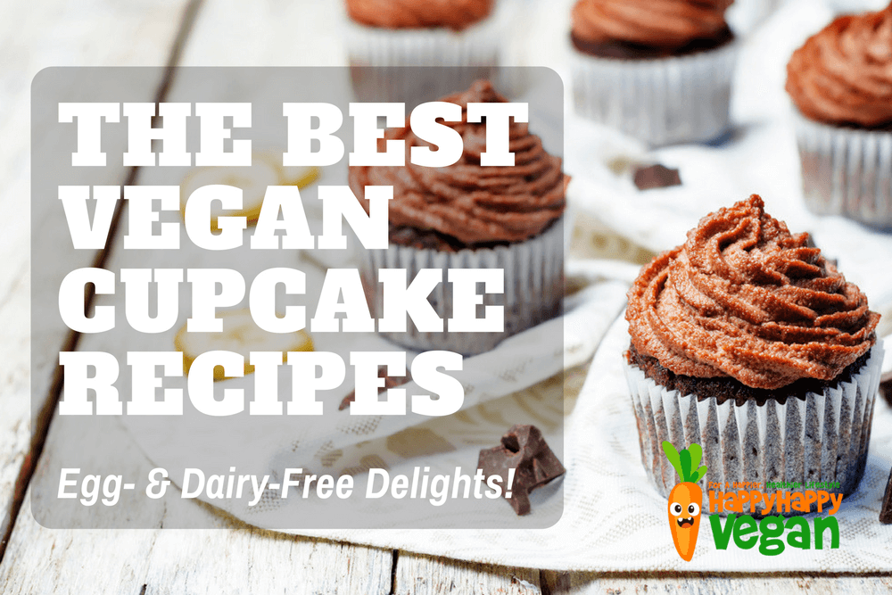 31 Delightfully Delicious Egg- And Dairy-Free Cupcake Recipes