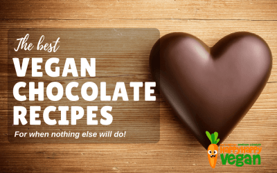 13 Vegan Chocolate Recipes - Because Only Dairy-Free Will Do!
