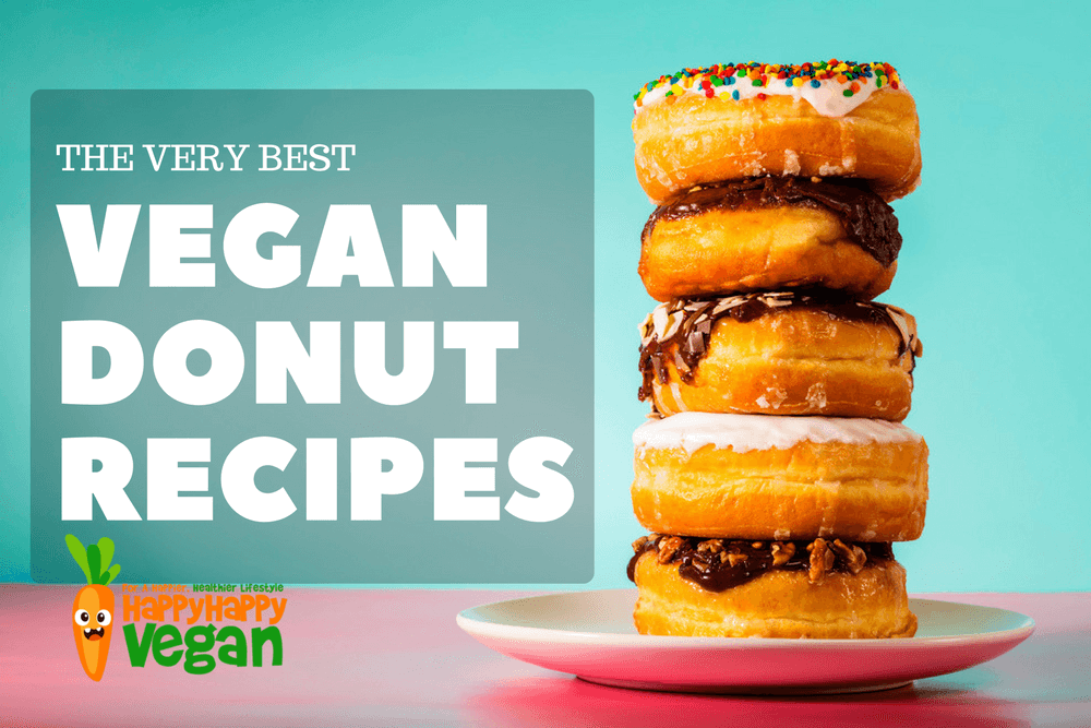 25 Vegan Donut Recipes (For When Only Naughty Deliciousness Will Do)