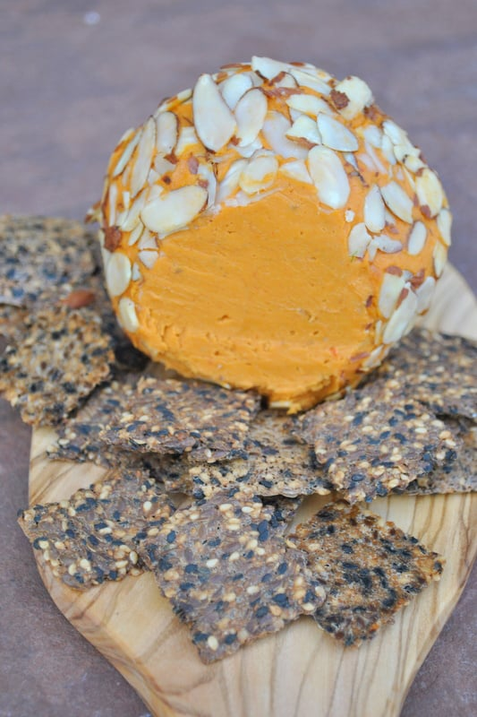 The ultimate plant-based cheese ball