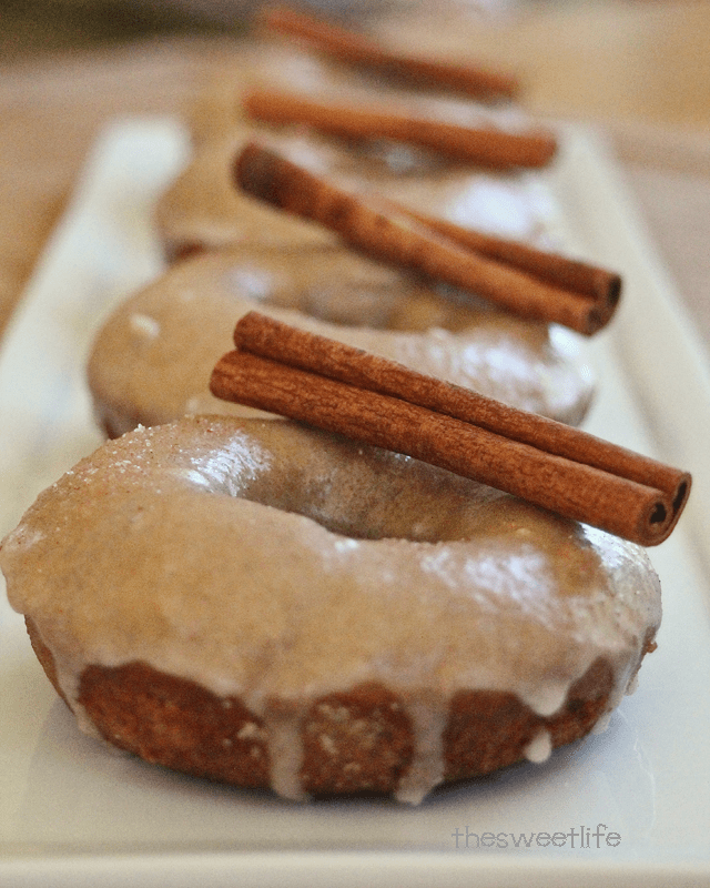 Baked Apple Cider Doughnut Recipe