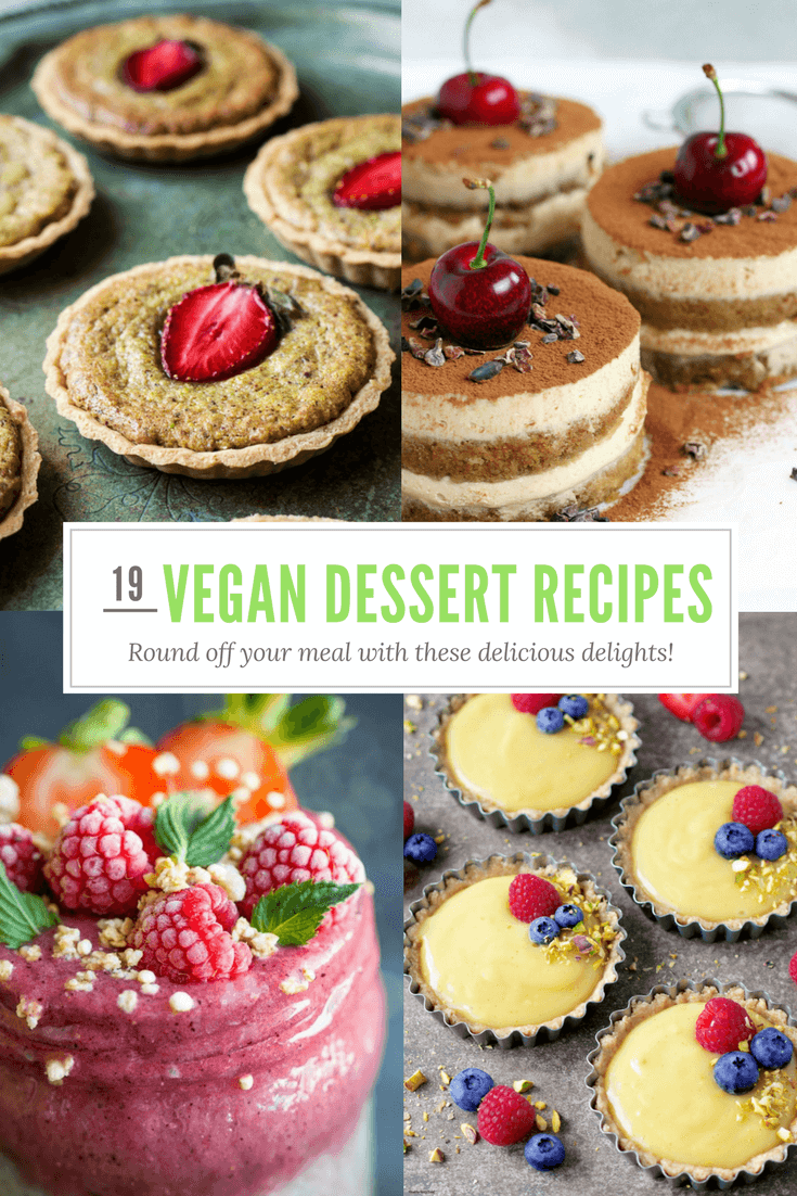 19 Wonderful Vegan Desserts To Wow Your Friends And Family With!