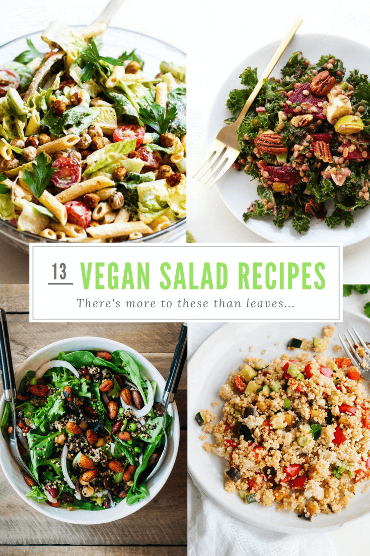 13 Vibrant Vegan Salads That Are Both Healthy And Hearty!
