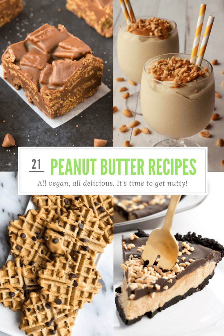 21 Perfectly Vegan Peanut Butter Recipes