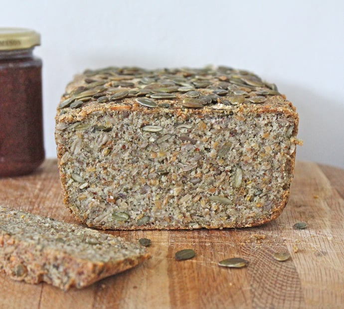 Superfood vegan loaf