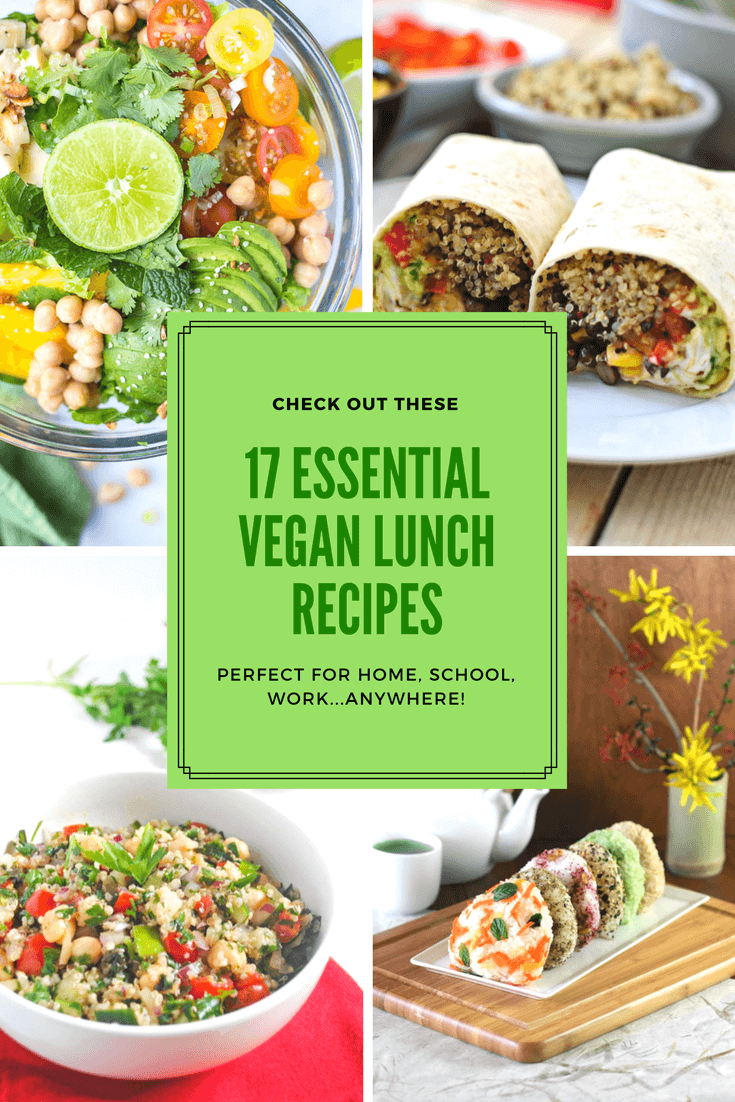 lunch recipes vegan