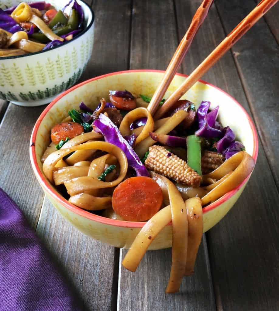Mongolian stir-fry