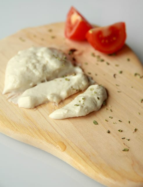 Homemade Vegan Mozzarella Cheese