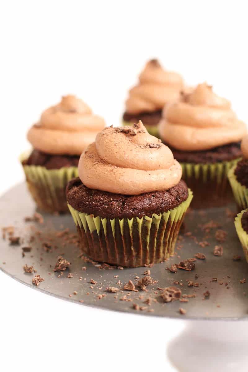 Chocolate cupcakes dairy-free
