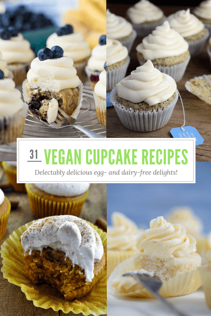 31 Mouthwatering Vegan Cupcake Recipes - Plant-Based Sweet Treats Aplenty!