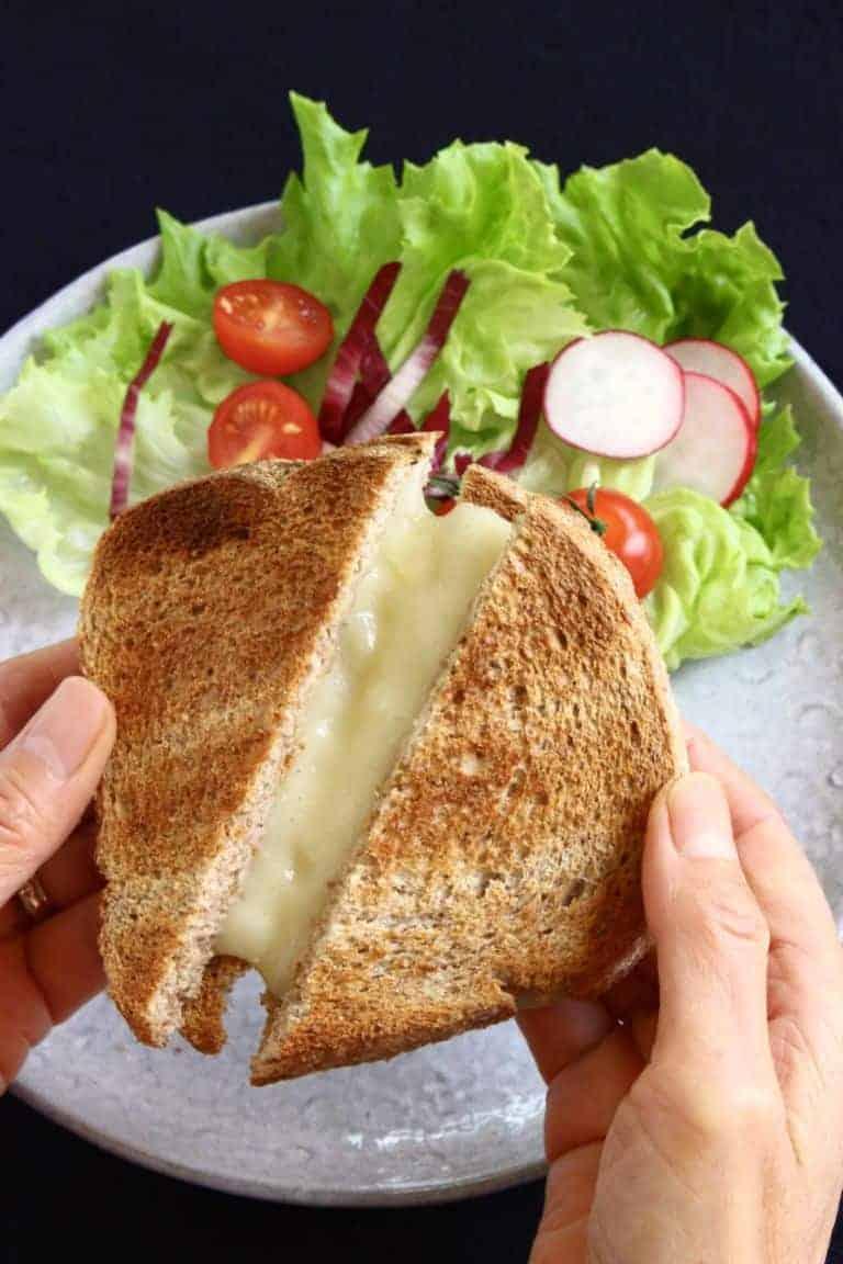 Vegan cheese that melts!