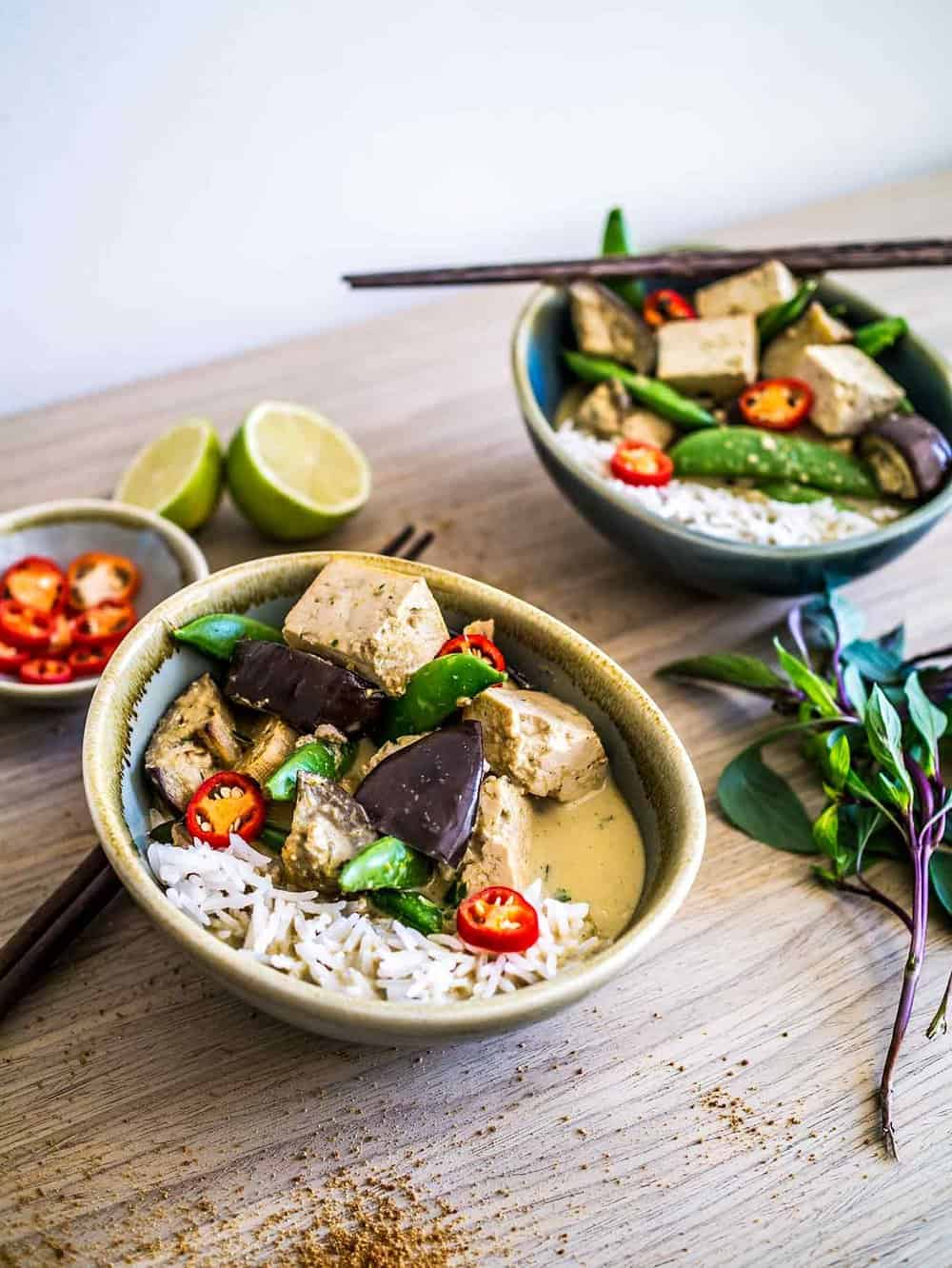 Dairy-free Thai Green Curry