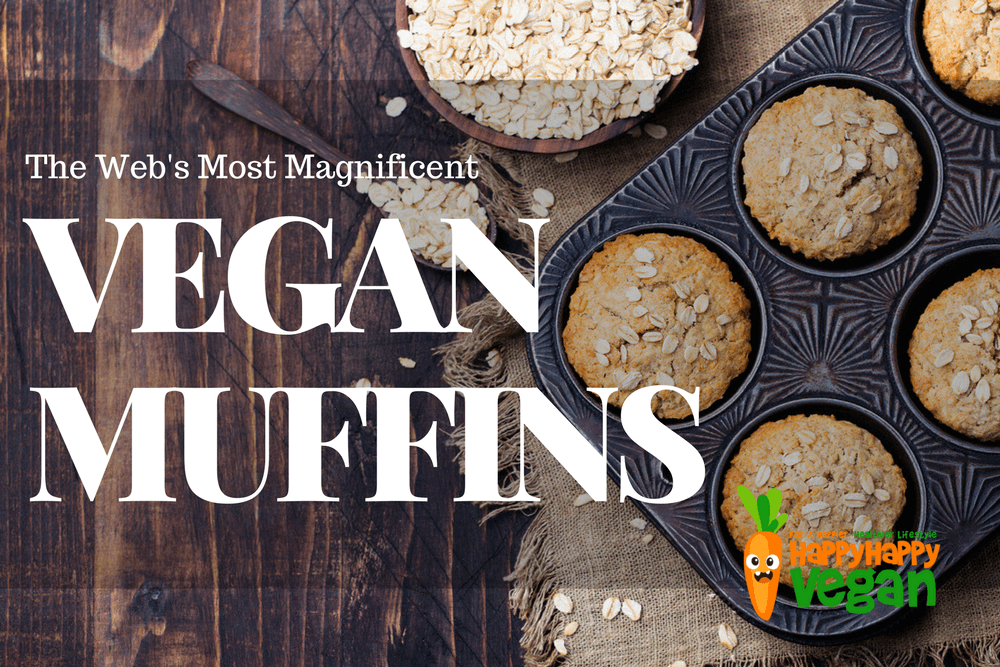 13 Of The Most Magnificent Vegan Muffins On The Web