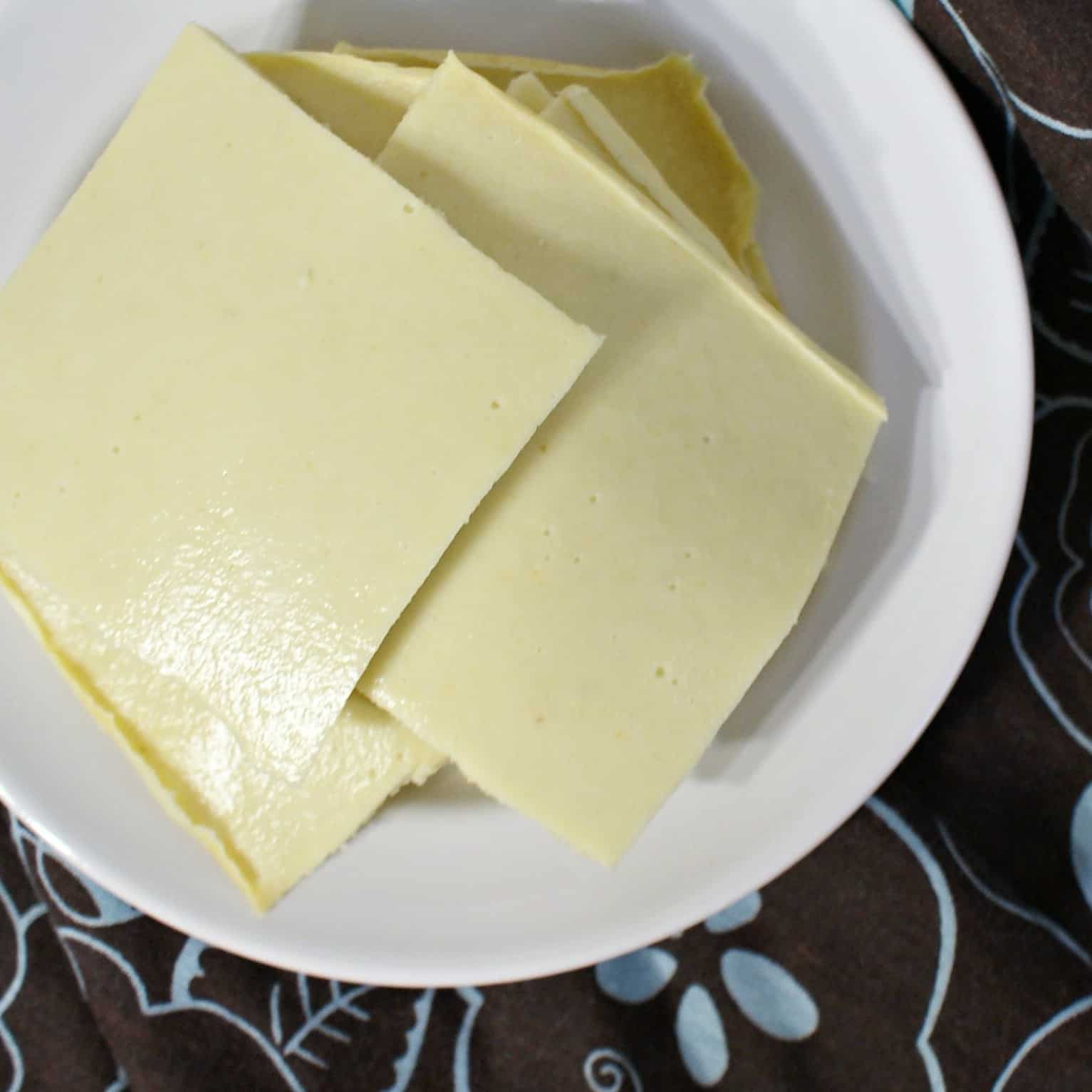 Nut-free cheese