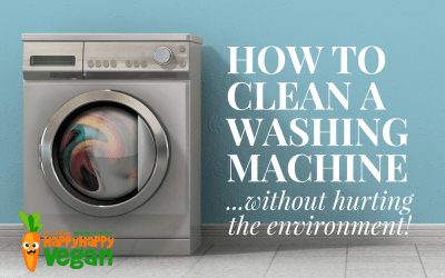 How To Clean A Washing Machine...Without Hurting The Environment!
