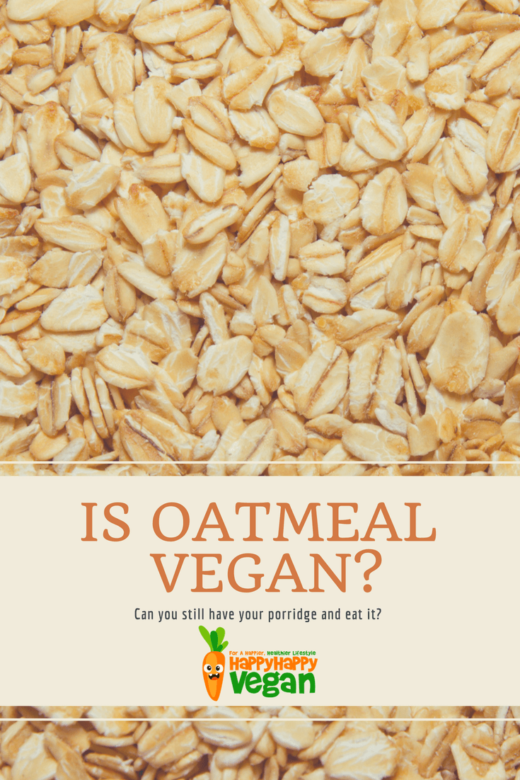 Pinterest pin showing raw oats and text asking