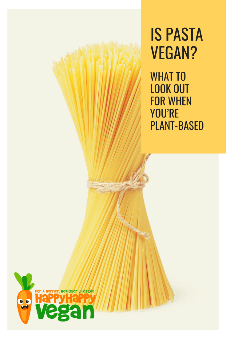 does plant based diet include pasta