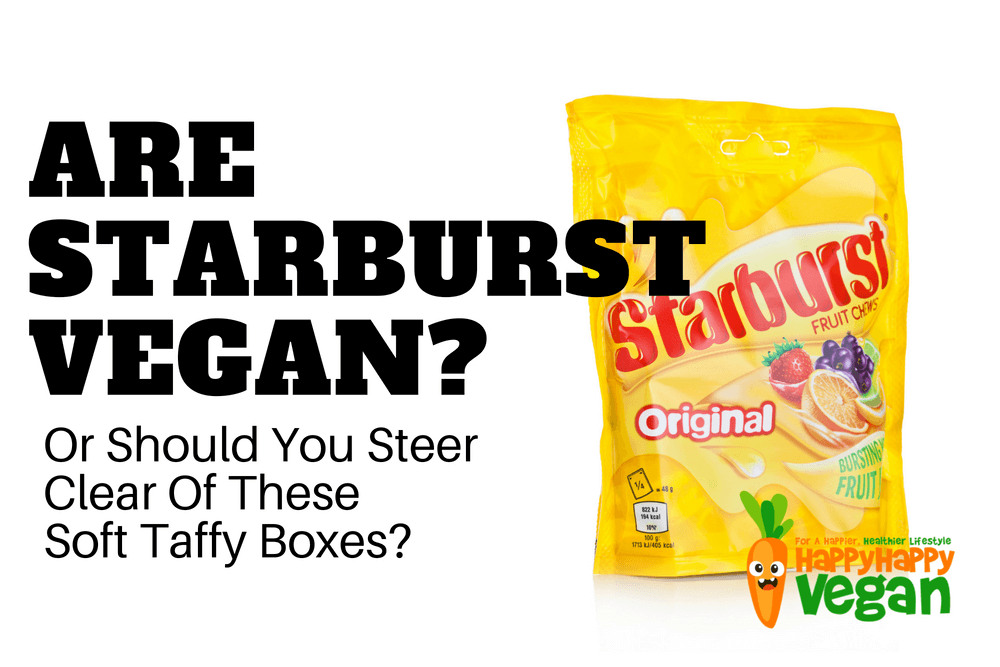 Are Starburst Vegan? Or Should You Steer Clear Of These Soft