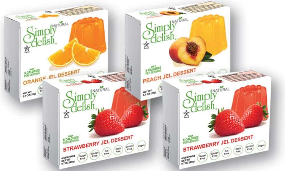 vegan jello brands simply delish various flavors