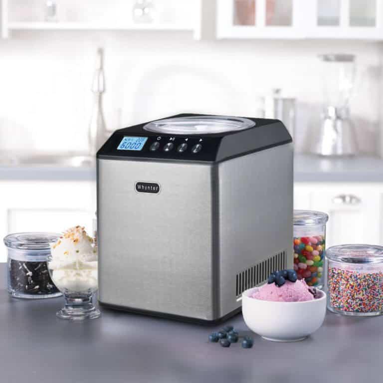 ICM-201SB Whynter 2.1 Quart Upright Ice Cream Maker with Stainless Steel Bowl - best ice cream machine