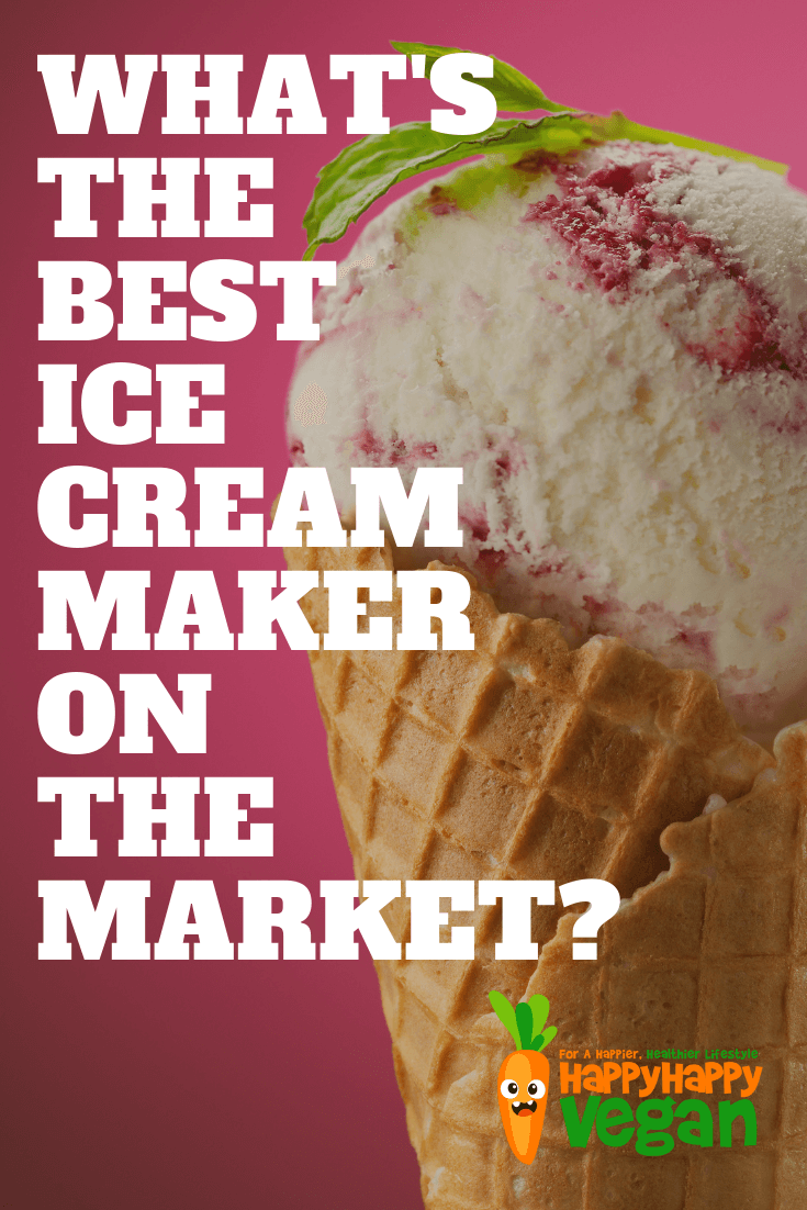 Pinterest image for best ice cream maker machine for home use article