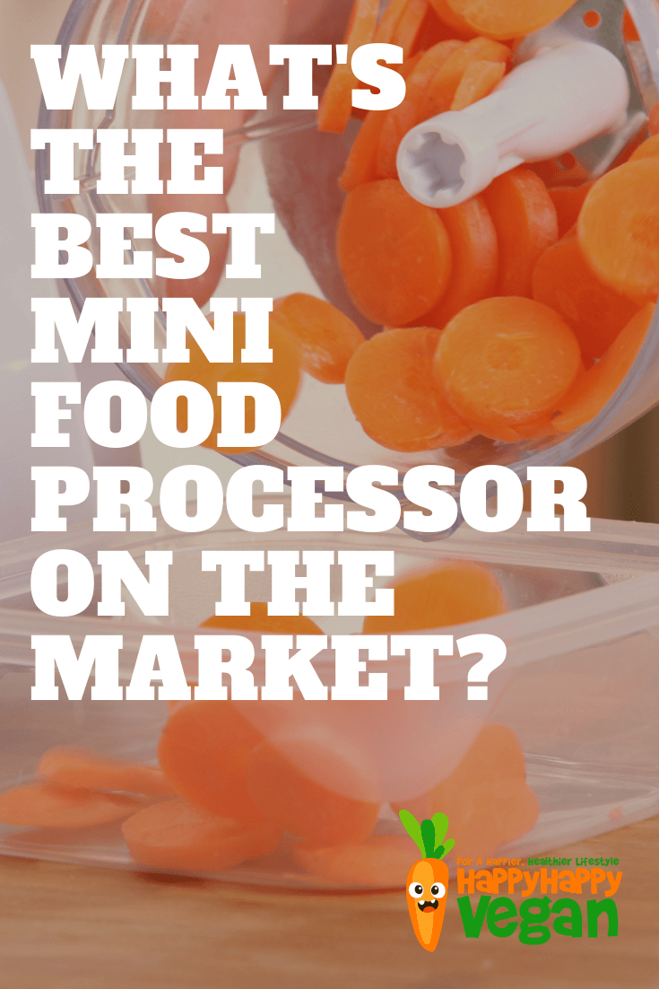 pinterest image for the best mini food processor