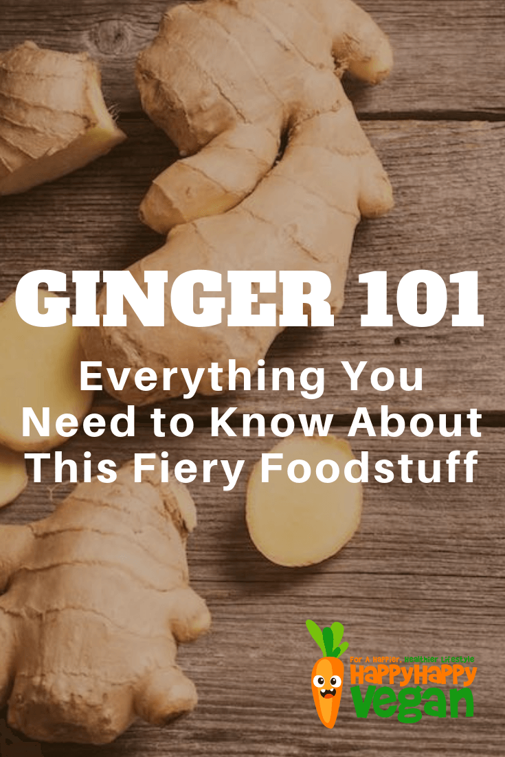 pinterest image for ginger 101