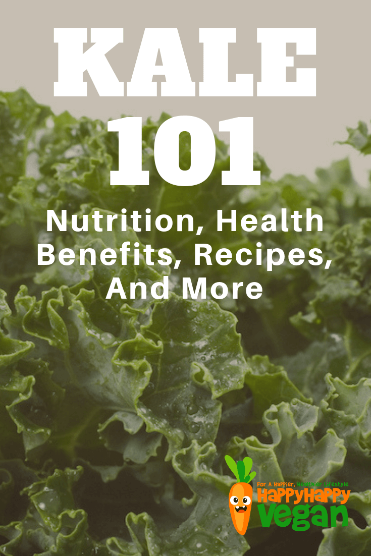 pinterest image for kale 101