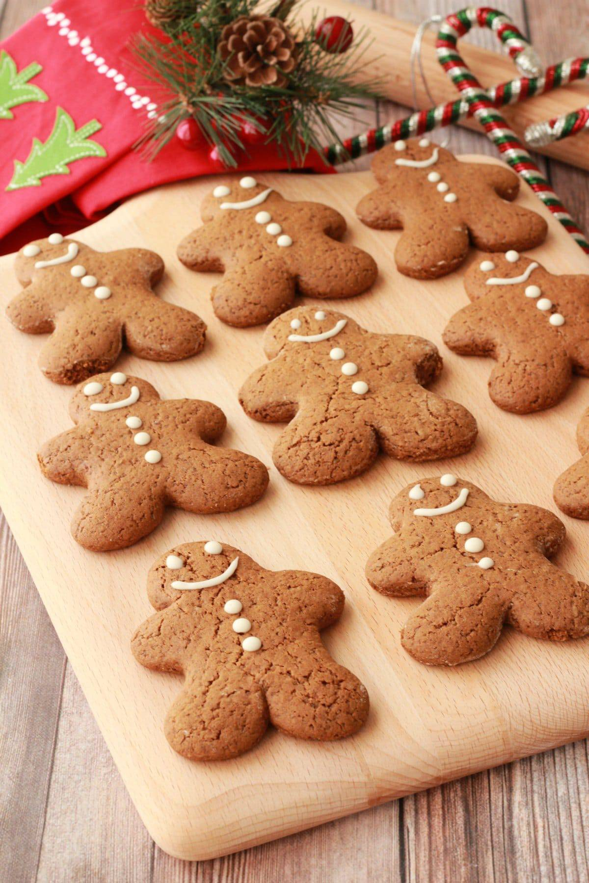 lovin it vegan gingerbread men