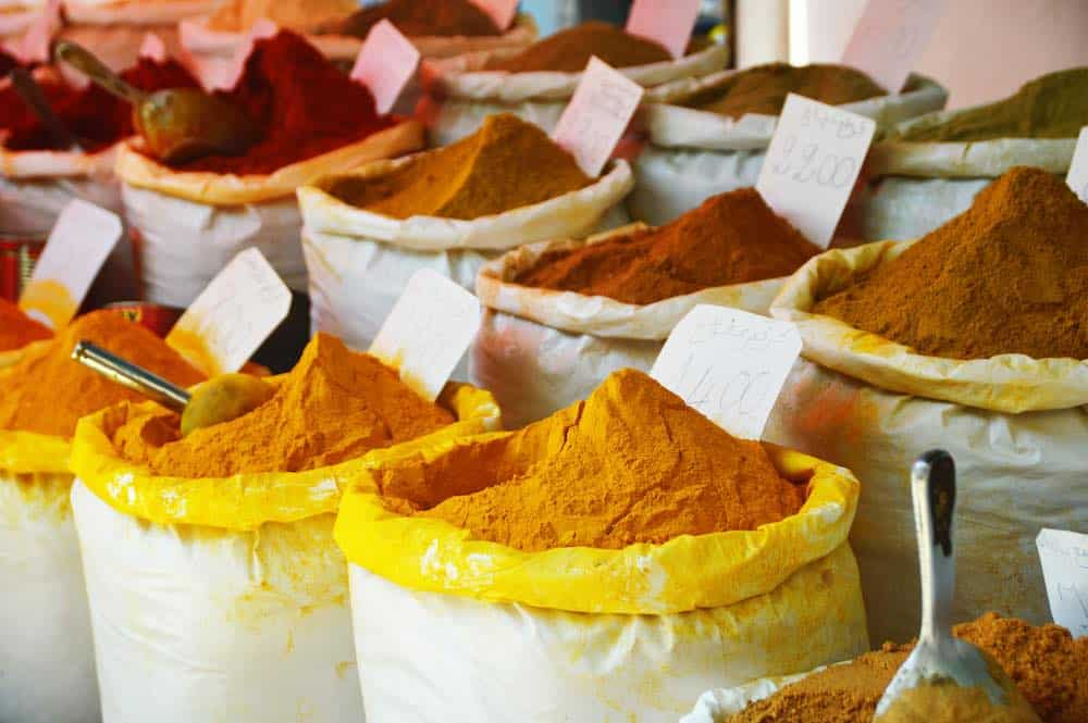 How to buy turmeric - sacks of spices for sale