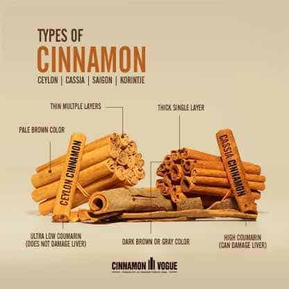 what are the different types of cinnamon