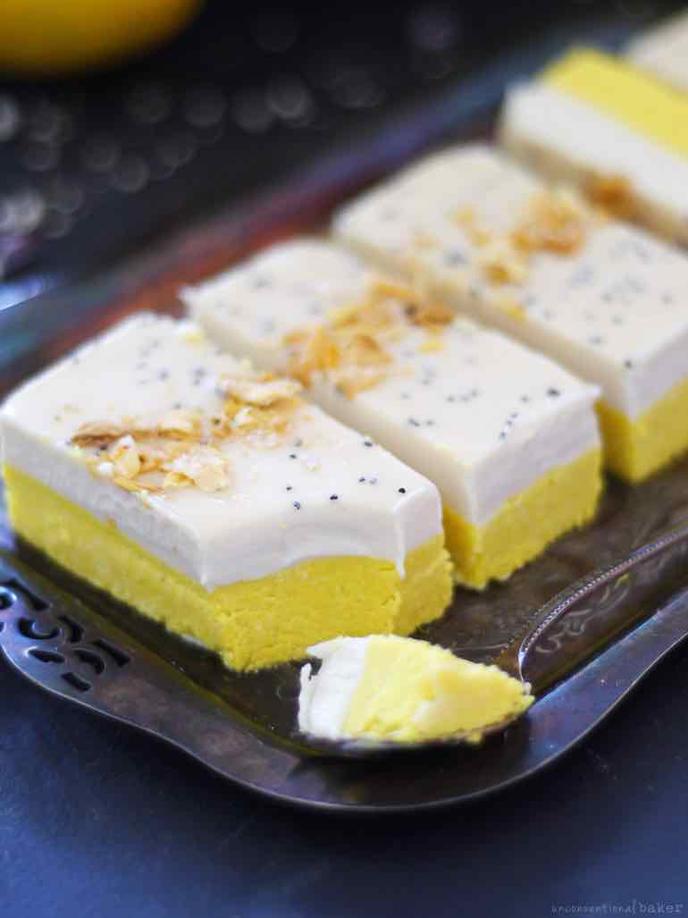 turmeric and lemon bars