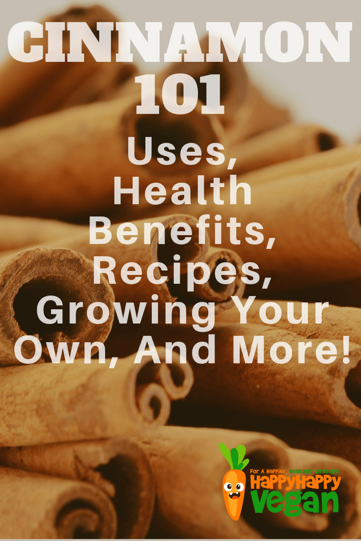 pinterest image for health benefits of cinnamon