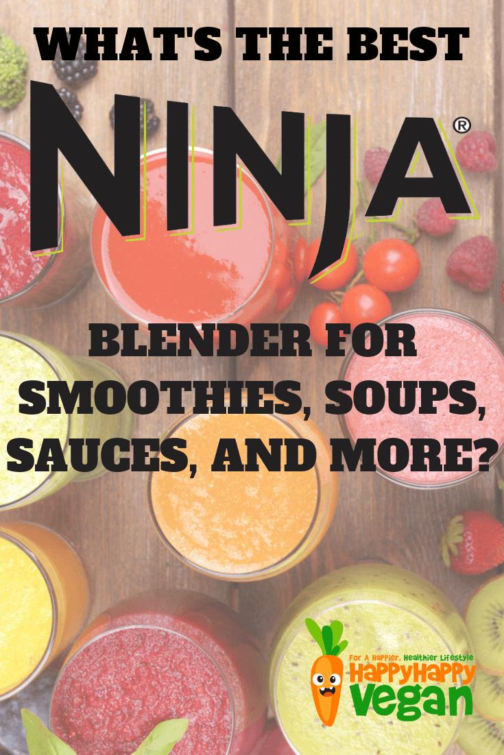 pinterest image for top rated ninja blender reviews