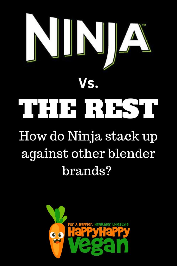 pinterest image for best rated ninja blender vs other smoothie maker brands