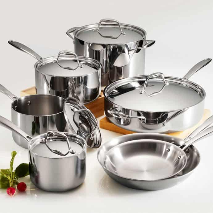 best-induction-cookware-tramontina-tri-ply-clad-12-piece-set