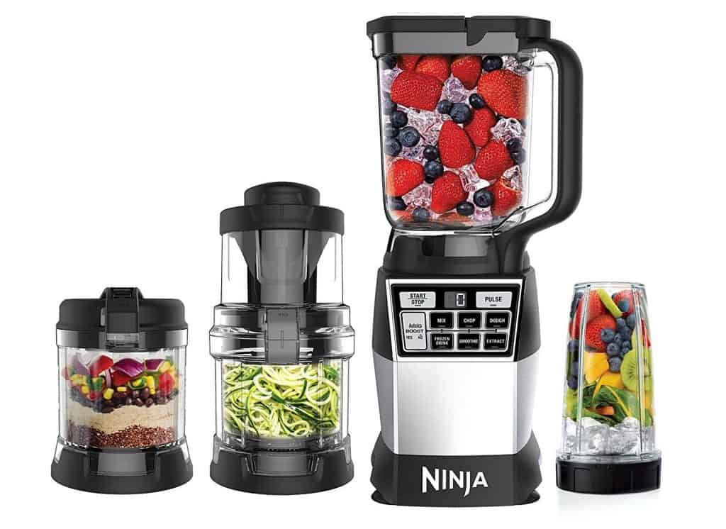 Ninja 4-in-1 Blender and Food Processing System