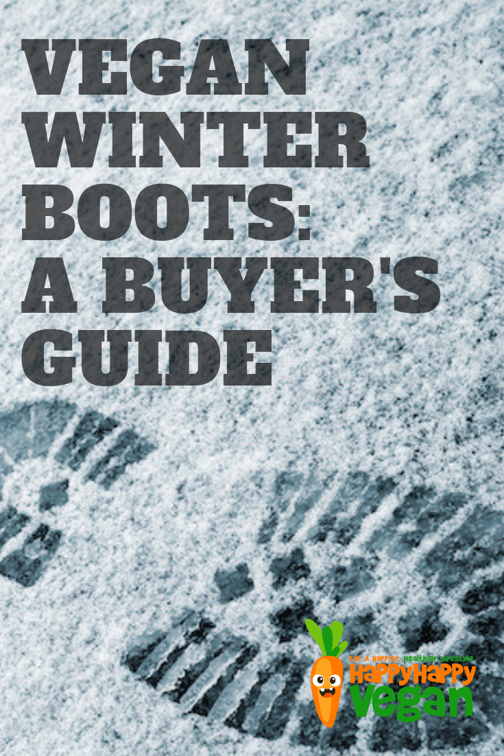 pinterest image for the best vegan winter boots