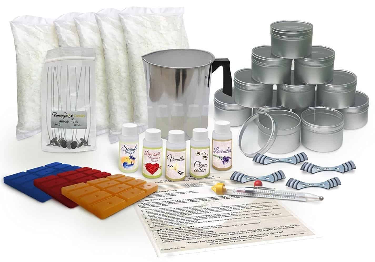 the best candle making kit for vegans