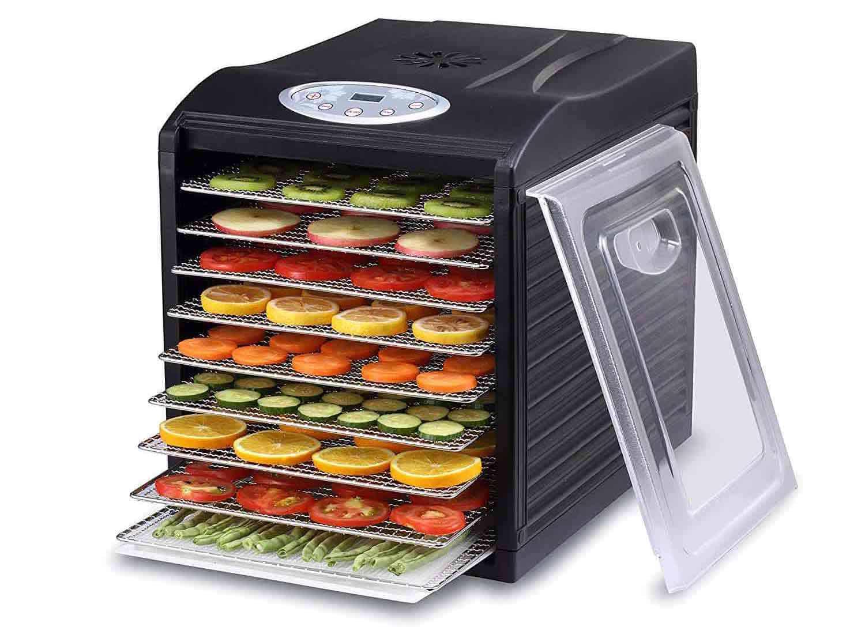 samson silent 9 tray food dehydrator