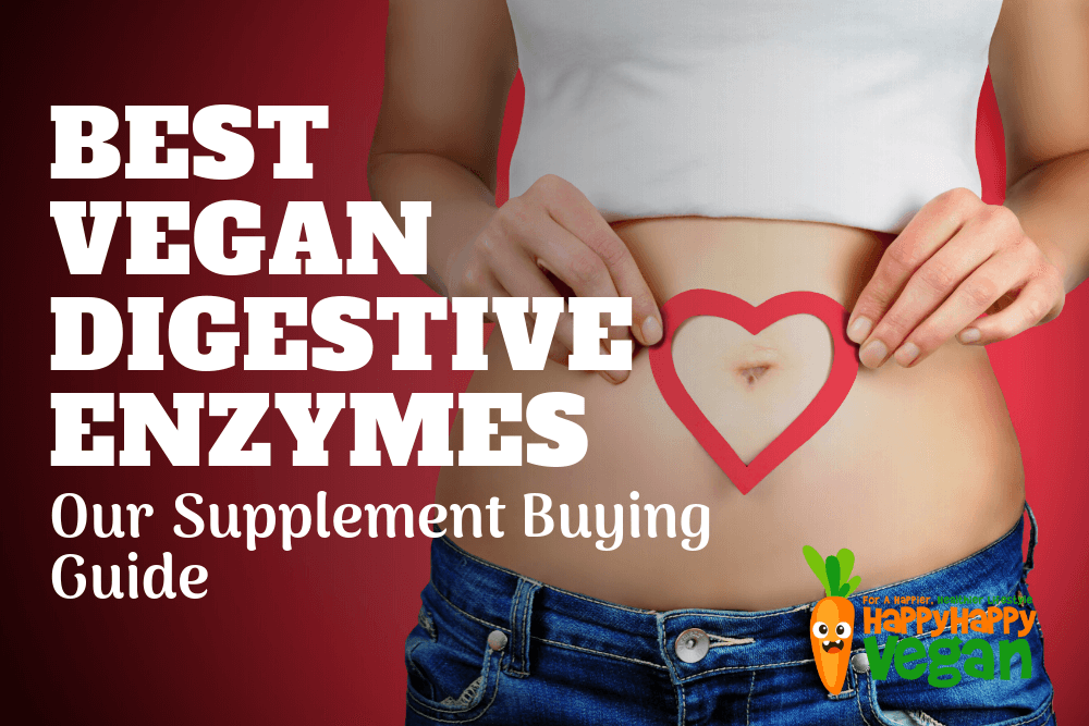 Best Vegan Digestive Enzymes: Supplement Buying Guide 2019